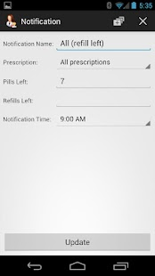 Prescription Monitor - screenshot thumbnail