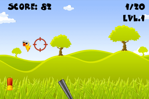 Shoot The Ducks - Free- screenshot