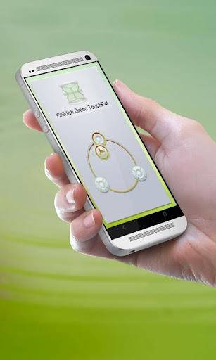 幼稚なグリーン TouchPal Theme