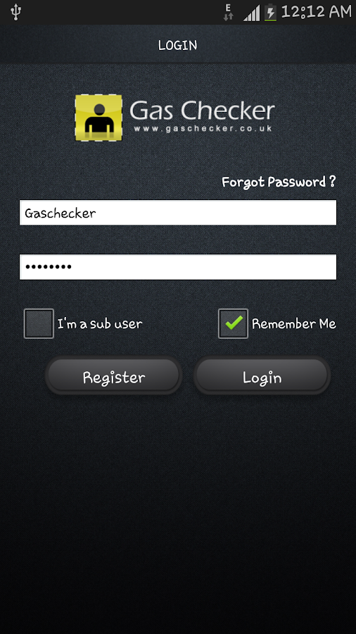 Gas Checker - screenshot