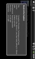 Screenshot of Book search