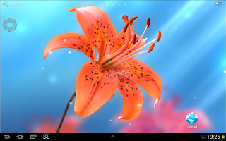 Screenshot of My Lovely Lily LWP
