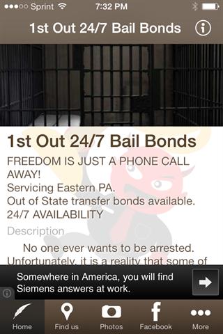 1st Out 24 7 Bail Bonds