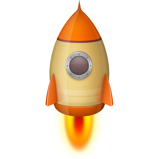 屏幕火箭 LOGO-APP點子