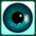 mudar cor dos olhos icon