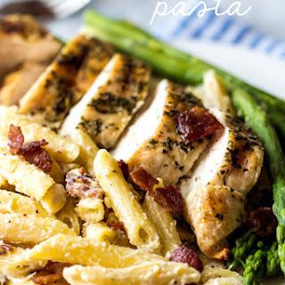 Chicken Bacon Pasta.