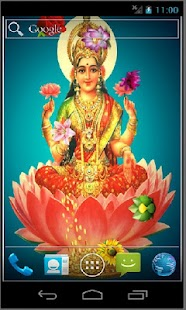 Goddess Saraswati HD LWP- screenshot thumbnail