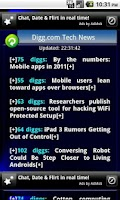 Screenshot of TechTray RSS Tech+News Reader