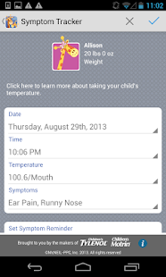 Kids' Wellness Tracker- screenshot thumbnail