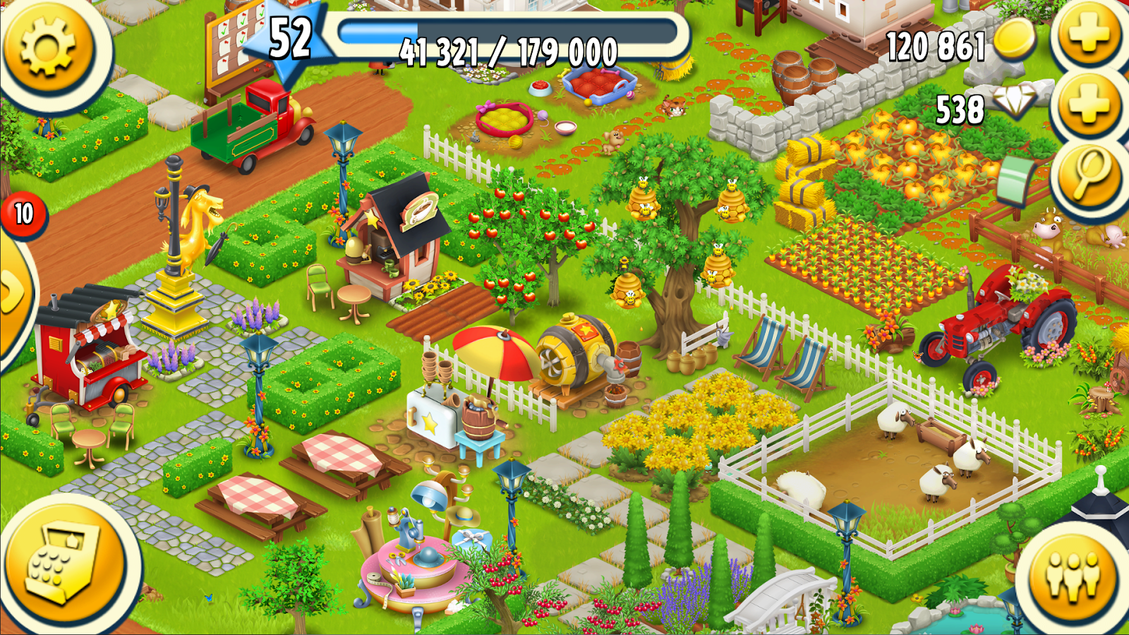hay day applications android sur google play. Black Bedroom Furniture Sets. Home Design Ideas