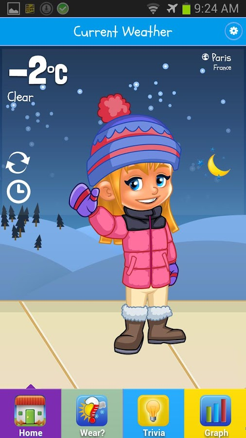 Kid Weather - screenshot
