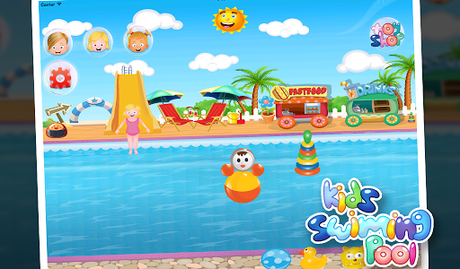 Kids Swimming Pool for Girls v24.1.4