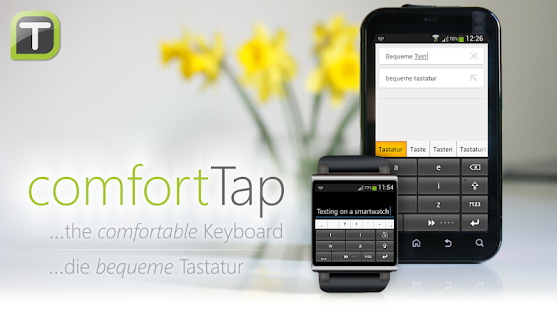 comfortTap Keyboard (EN) Beta- screenshot thumbnail