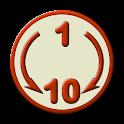 1 to 10 icon