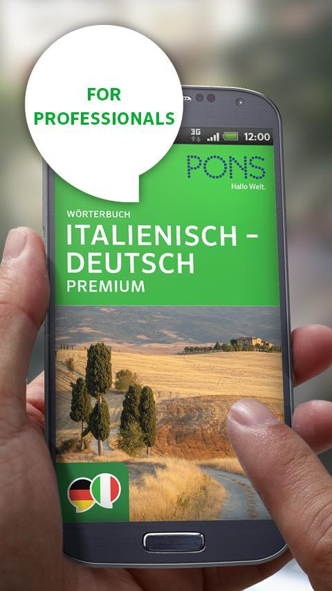 Italian<>German PREMIUM - screenshot