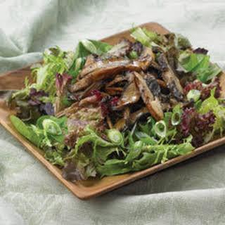 Warm Portobello Mushroom Salad.