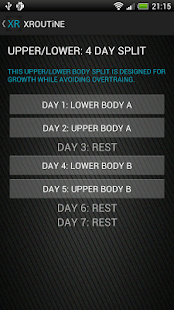 30 Day Muscle Workouts Fitness - screenshot thumbnail