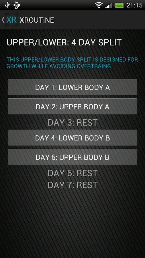 30 Day Muscle Workouts Fitness - screenshot