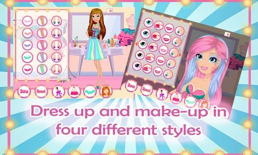 Runway Beauty Secrets Dress Up - screenshot thumbnail