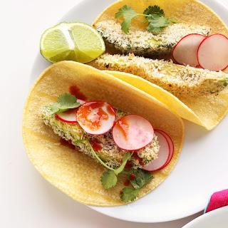 Panko Baked Avocado Tacos