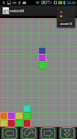 Screenshot of ColoriTTa - the motley columns