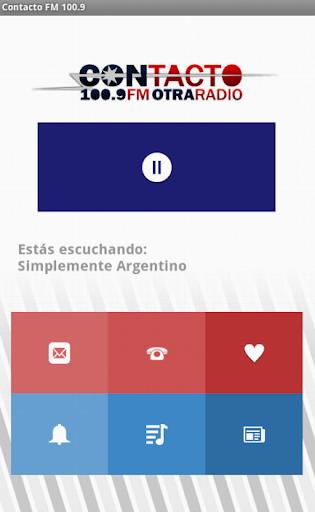 Contacto FM 100.9 Beta
