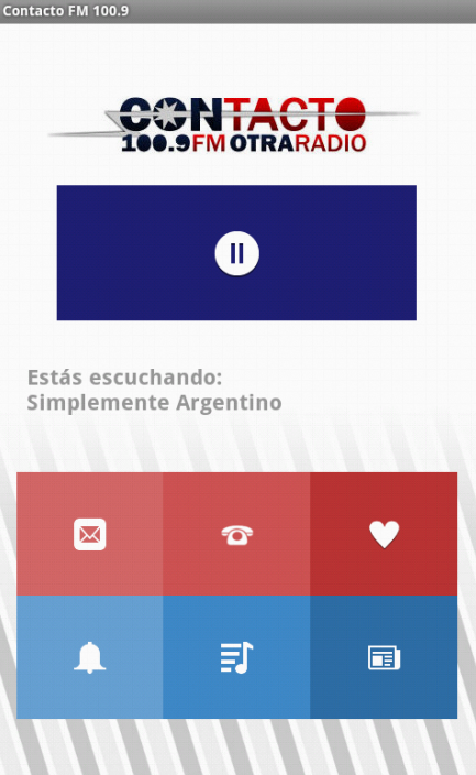 Contacto FM 100.9 (Beta)- screenshot