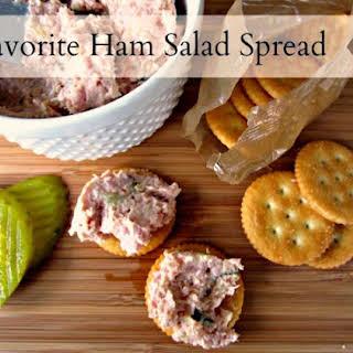 Favorite Ham Salad Spread.