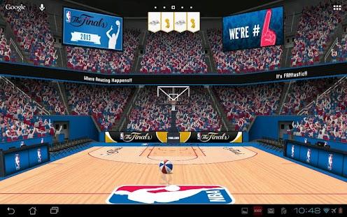 [NBA 3D Live Wallpaper] Screenshot 2