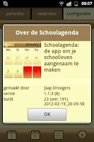 Screenshot of Schoolagenda