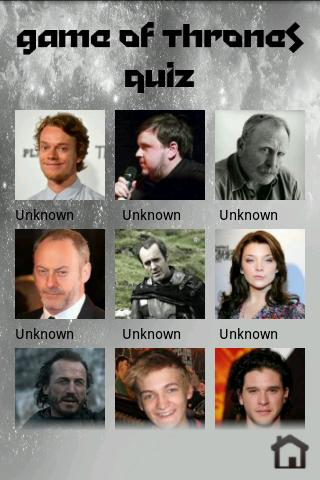 Game of Thrones Quiz - screenshot
