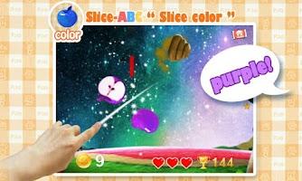 Screenshot of Slice-ABC for Kids