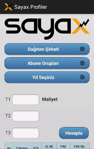 Sayax Profiler