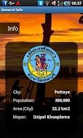 Screenshot of Pattaya Travel Guide