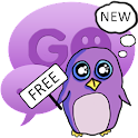Theme Penguin for GO SMS Pro icon