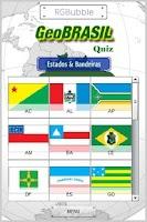 Screenshot of GeoBrazil-Quiz