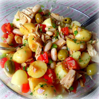 Tuna, White Bean and Potato Salad