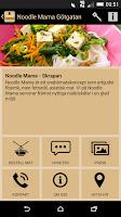 Screenshot of Noodle Mama