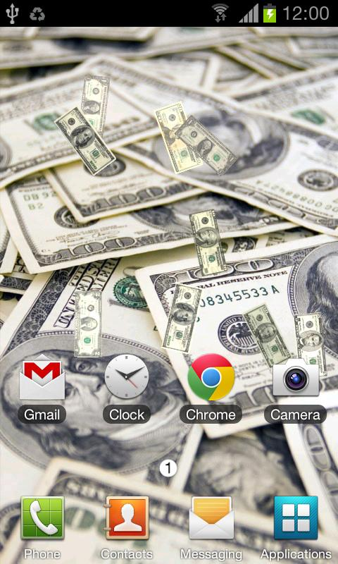 Money Live Wallpaper - screenshot