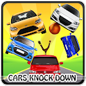 Cars Knock Down game