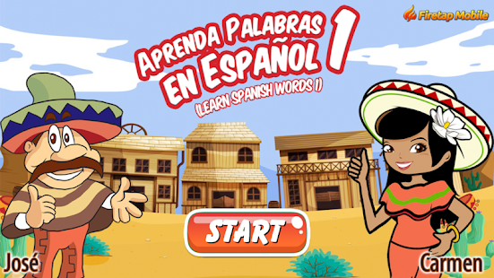 Learn Spanish Words 1- screenshot thumbnail