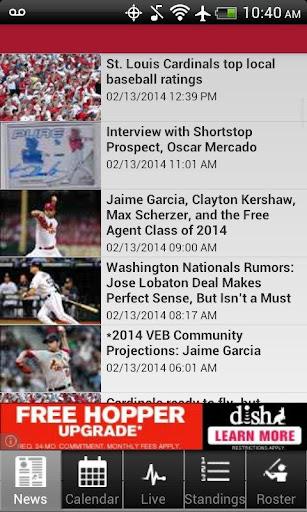St. Louis Baseball Free