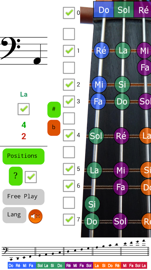 Cello Notes Sight Read Tutor- screenshot