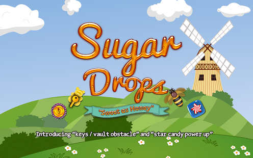Sugar Drops - Match 3 puzzle