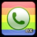 exDialer SGS2 Theme logo
