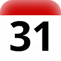 BR holidays calendar widget icon