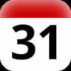 BR holidays calendar widget icon