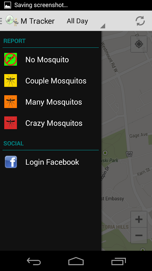 M Tracker - screenshot