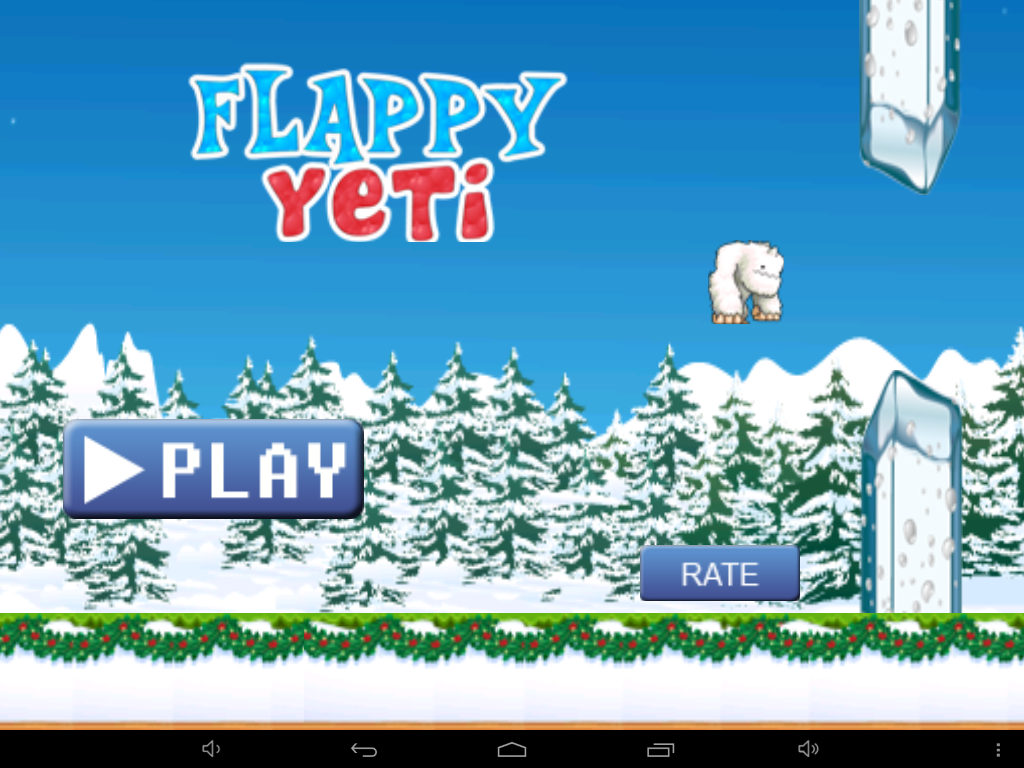 Flappy Yeti - screenshot