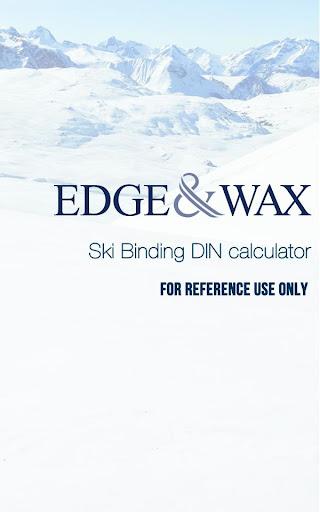 Ski Bindings DIN Calculator